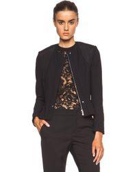 Nina Ricci Pleated Polyamide-Blend Jacket - Lyst
