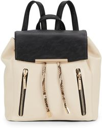 Kensie - Colorblock Faux Leather Back - Lyst