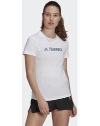 adidas - T-shirt Terrex Classic Logo - Lyst