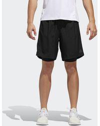 adidas Hardloop Shorts Met Climacool - Zwart