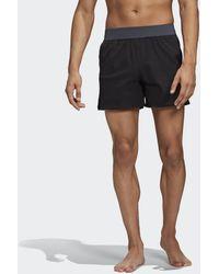 adidas Short da nuoto Zip Pocket Tech - Nero