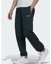 adidas R.y.v. Cotton Twill Two-in-one Trainingsbroek - Groen