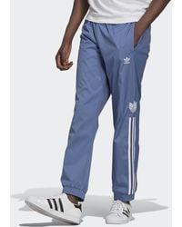 adidas Adicolor 3d Trefoil 3-stripes Trainingsbroek - Blauw