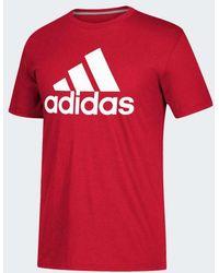 adidas - Badge Of Sport Tee - Lyst