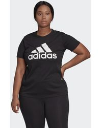 adidas Must Haves Badge Of Sport T-shirt (grote Maat) - Zwart