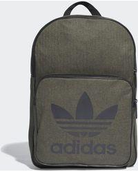 6dd59095ef Lyst - adidas Logo Backpack in Gray for Men