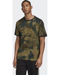 adidas Camiseta Camouflage Cali - Verde