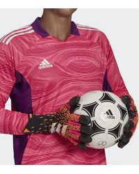 adidas Guantes portero Predator Pro Hybrid - Rosa