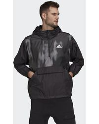 adidas - Back to Sport WIND.RDY Anorak - Lyst