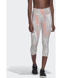 adidas Believe This Iterations High-rise Capri Legging - Meerkleurig