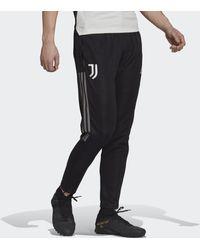 adidas Juventus Turin Tiro Trainingshose - Schwarz