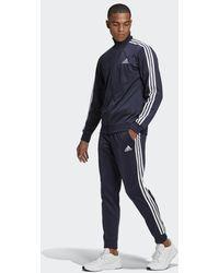 adidas Primegreen Essentials 3-Streifen Trainingsanzug - Blau