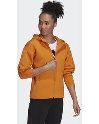 adidas Z.n.e. Sportswear Hoodie - Oranje