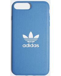 adidas Basic Logo iPhone 8+ Schutzhülle - Blau