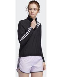 adidas Run It 3-stripes Anorak - Zwart