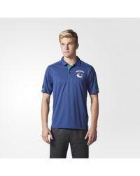 adidas - Canucks Pro Locker Room Polo Shirt - Lyst