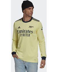 adidas - Arsenal 21/22 Long Sleeve Away Jersey - Lyst