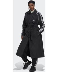 adidas Adicolor Classics Trenchcoat - Zwart