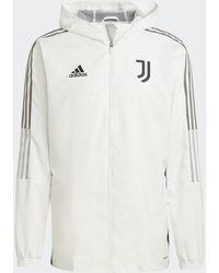 adidas Juventus Tiro Presentation Track Top - White