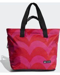 adidas Schoudertas Met Marimekko Laine Print - Roze