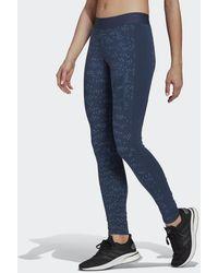 adidas - Sportswear Allover Print Legging - Lyst
