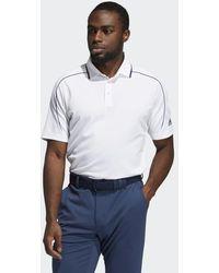 adidas No-show Polo Shirt - White