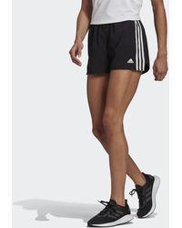 adidas Primeblue Designed 2 Move Woven 3-stripes Sport Shorts - Black