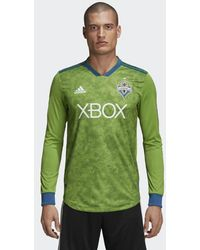 sports shoes 4d0e2 36d04 adidas Seattle Sounders Fc Away Jersey in White for Men - Lyst