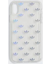 adidas Funda iPhone Clear 6,1 pulgadas - Metálico