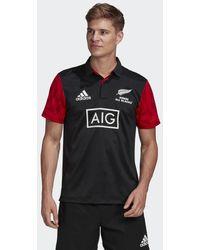 adidas Polo Māori All Blacks - Nero