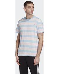 adidas Linear Stripe T-Shirt - Pink