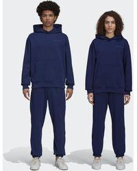 adidas Pharrell Williams Basics Joggingbroek (uniseks) - Blauw