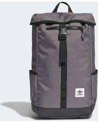 adidas Premium Essentials Top Loader Rucksack - Grau