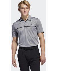 adidas Primegreen Print Polo Shirt - Grey
