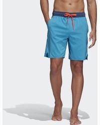 adidas Colorblock Tech Shorts - Blue