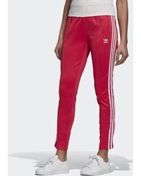 adidas Primeblue Sst Tracksuit Bottoms - Pink