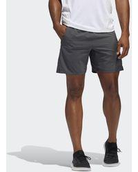 adidas AEROREADY 3-Streifen 8-Inch Shorts - Grau
