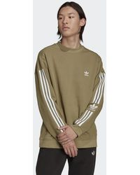 adidas Adicolor Classics Lock-up Trefoil Sweatshirt - Groen