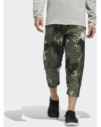 adidas - Continent Camo City Cropped Joggers - Lyst