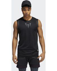 adidas Prime Heat.rdy Mouwloos Shirt - Zwart
