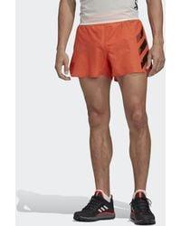 adidas Terrex Agravic Split Short - Oranje