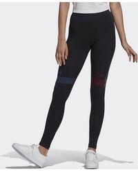 adidas Loungewear Adicolor Tricolor Tights - Black
