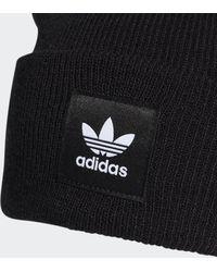 adidas Adicolor Cuff Beanie - Zwart