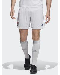 adidas Olympique Lyon Heimshorts - Weiß