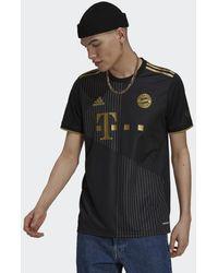 adidas FC Bayern Munich 2021/22 Away Shirt - Nero