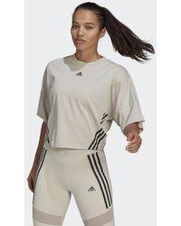 adidas Cropped T-Shirt - Mehrfarbig