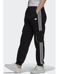 adidas Piping Cargo Broek - Zwart