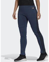 adidas Sportswear 3-stripes Skinny Broek - Blauw