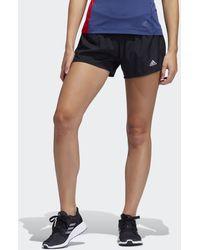 adidas Short Run It 3-Stripes PB - Noir