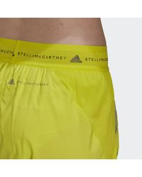 adidas By Stella Mccartney Truepace Multipurpose Short - Geel